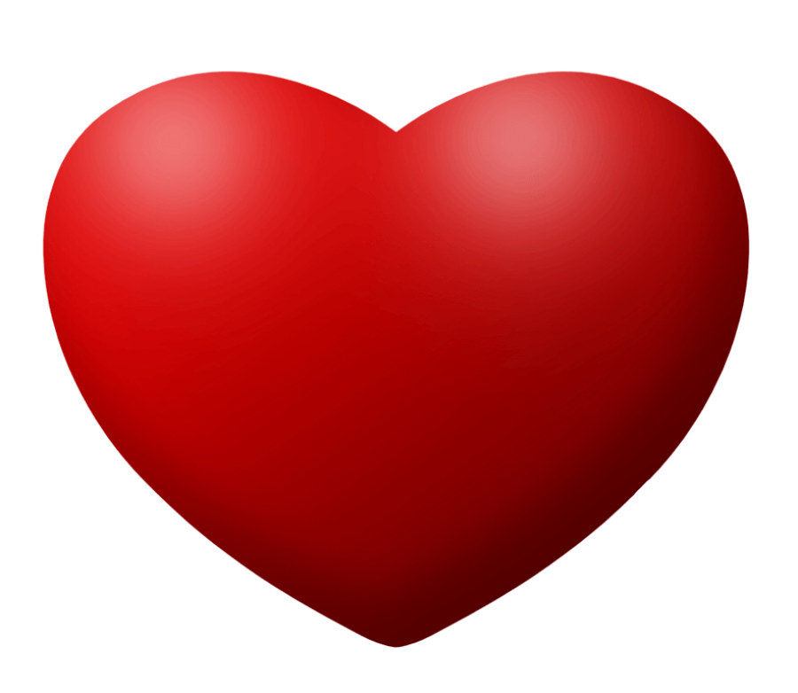 Red Heart PNG Image