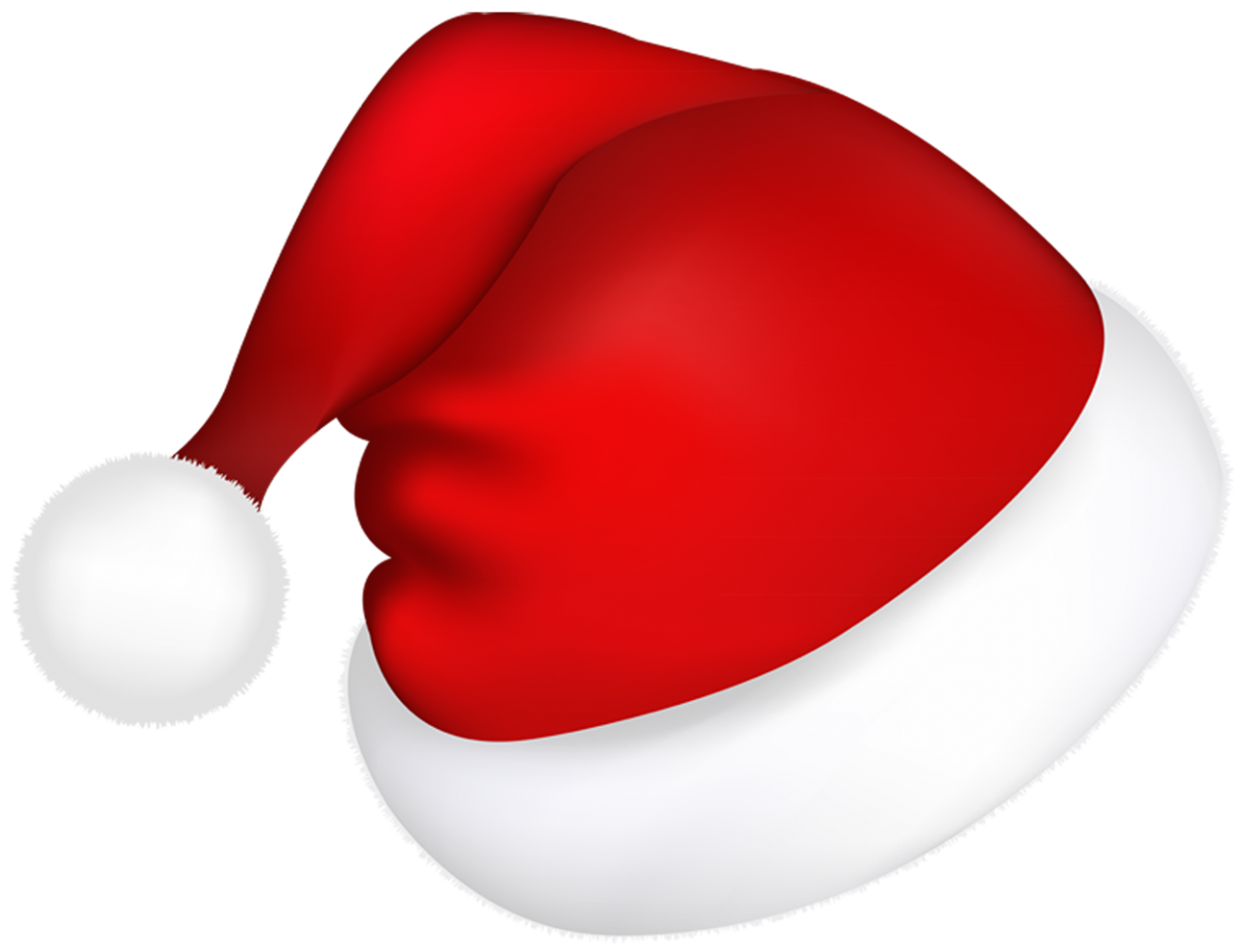 Red Christmas Hat PNG Image