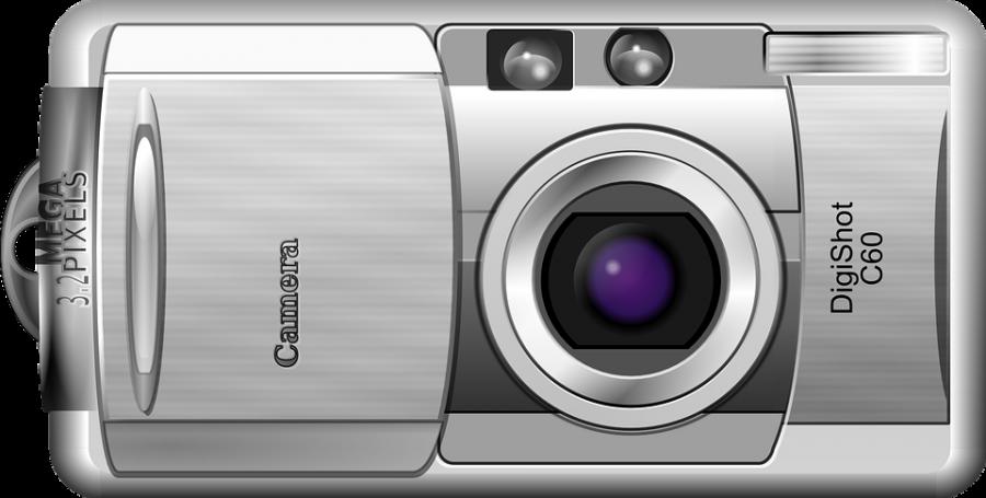 Digital Camera Comic PNG Image