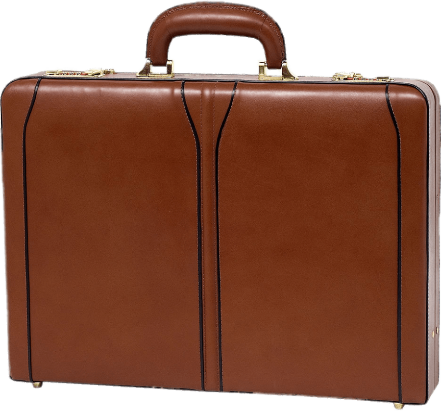 Brown Briefcase PNG PNG Image