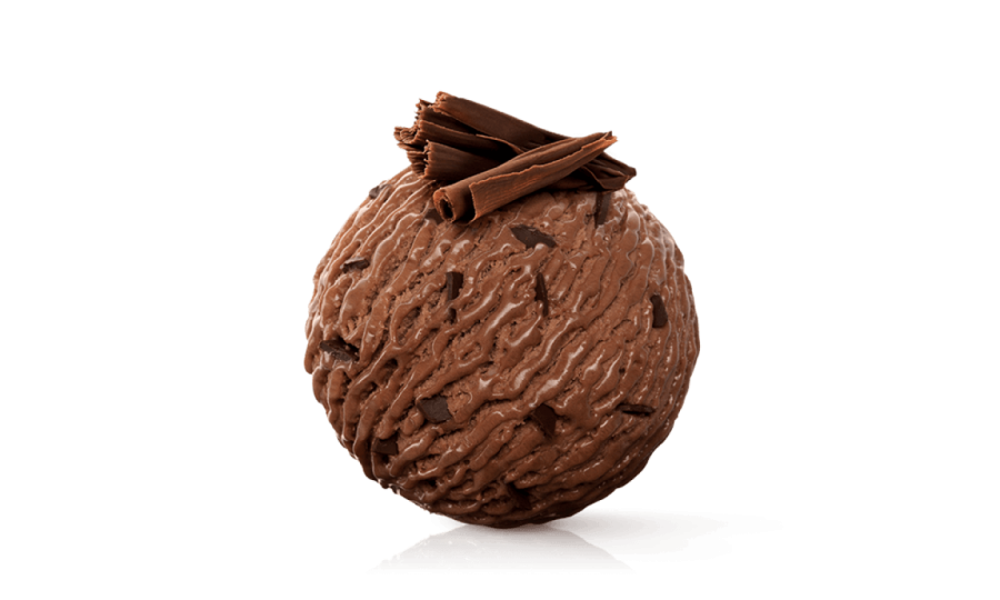 Chocolate Ice Ball PNG PNG Image