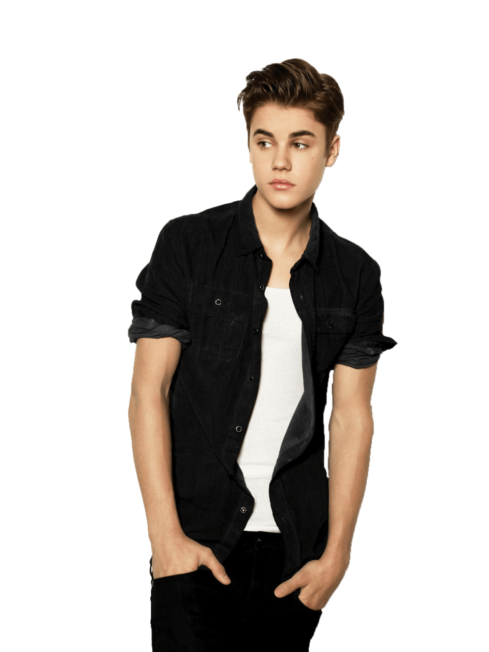Standing Justin Bieber PNG Image