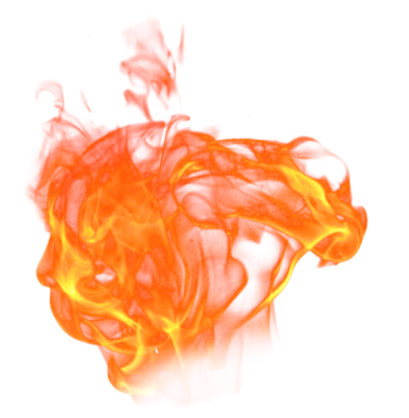 Fire Flame Burning PNG Image