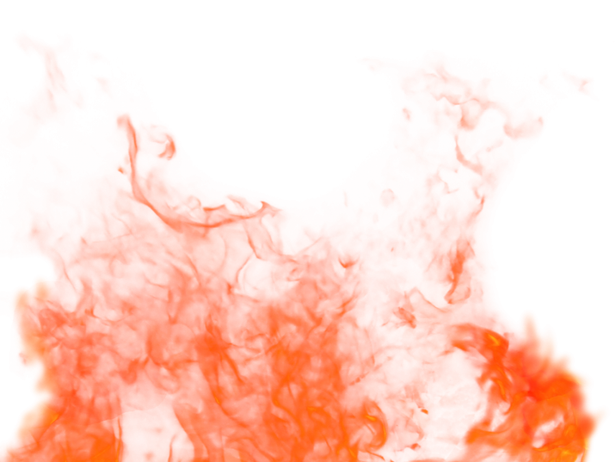 Fire Flame Sparkling Ground PNG Image