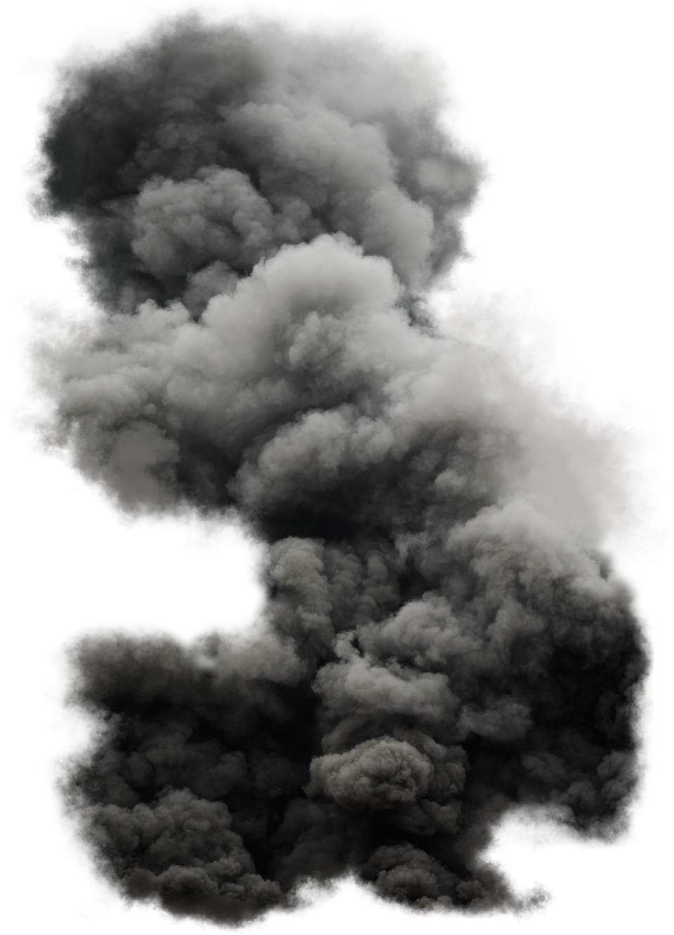 Black Cloud Smoke PNG Image