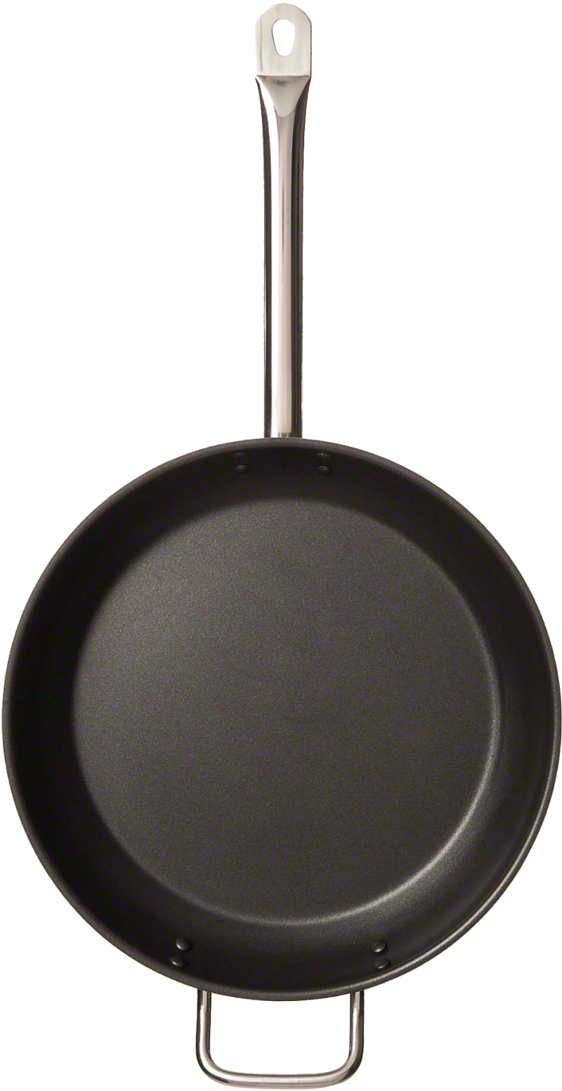 Frying pan top down PNG Image