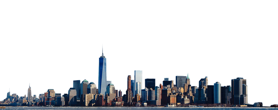 NewYork from side PNG Image