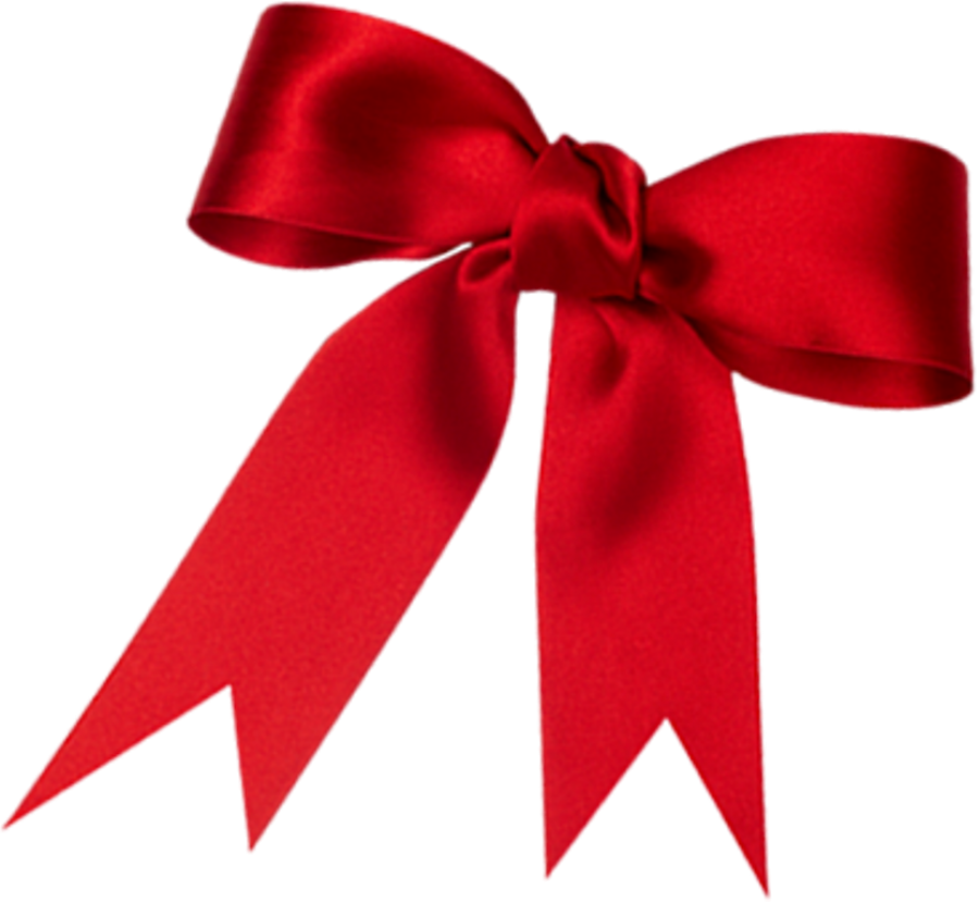 Red Loop Ribbon PNG Image