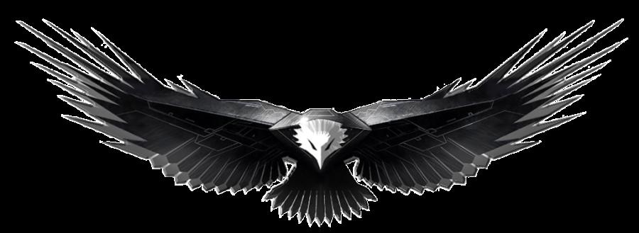 Metal eagle Art PNG Image