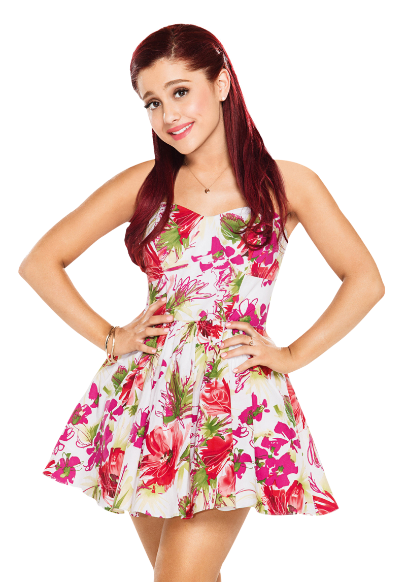A Famous Singer Ariana Grande PNG Image