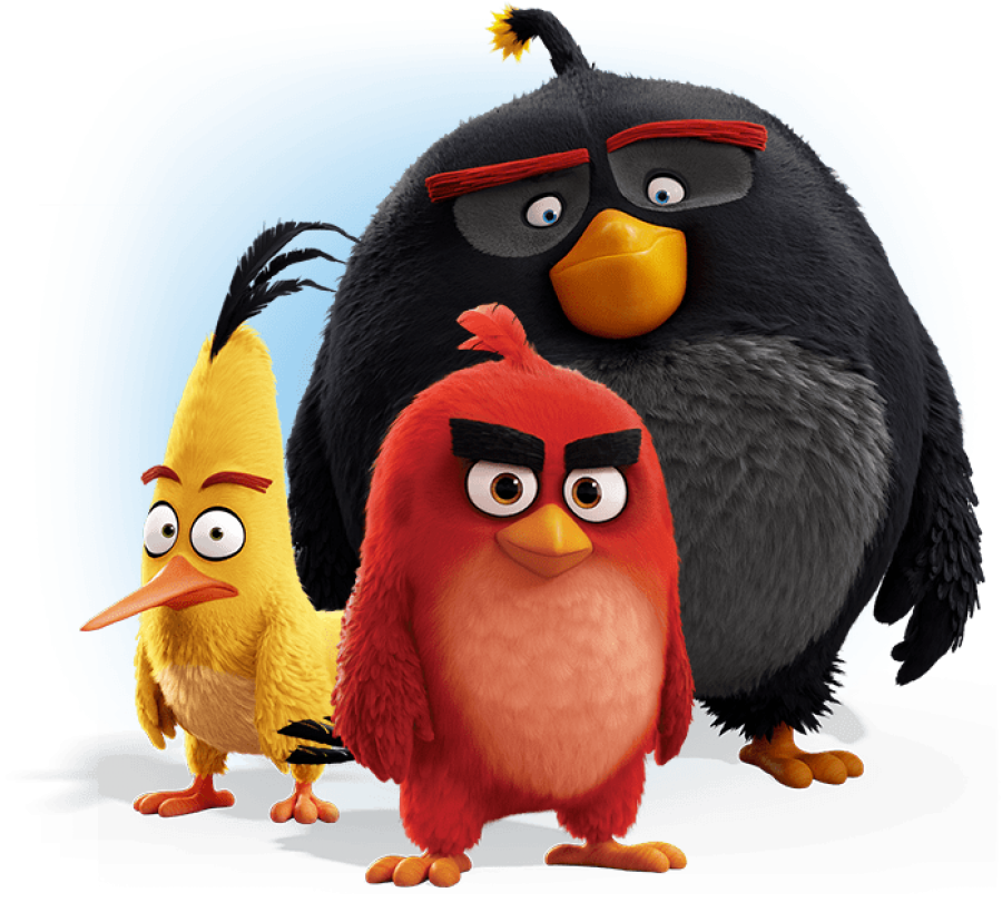 Angry Birds Game PNG Image