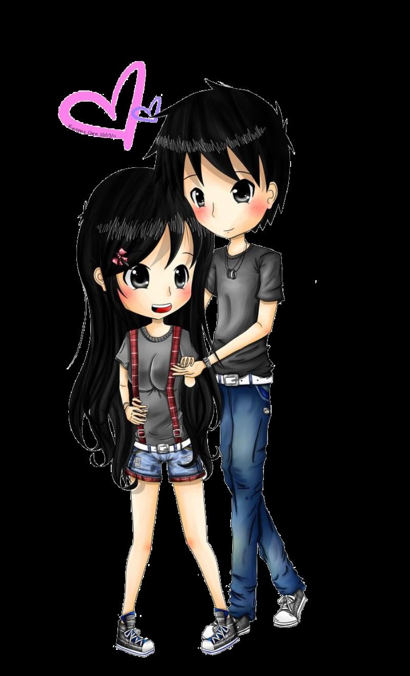 Anime Boy And Girl anime boy and girl png image - purepng   free transparent