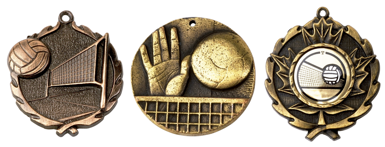 Antique Medals PNG Image