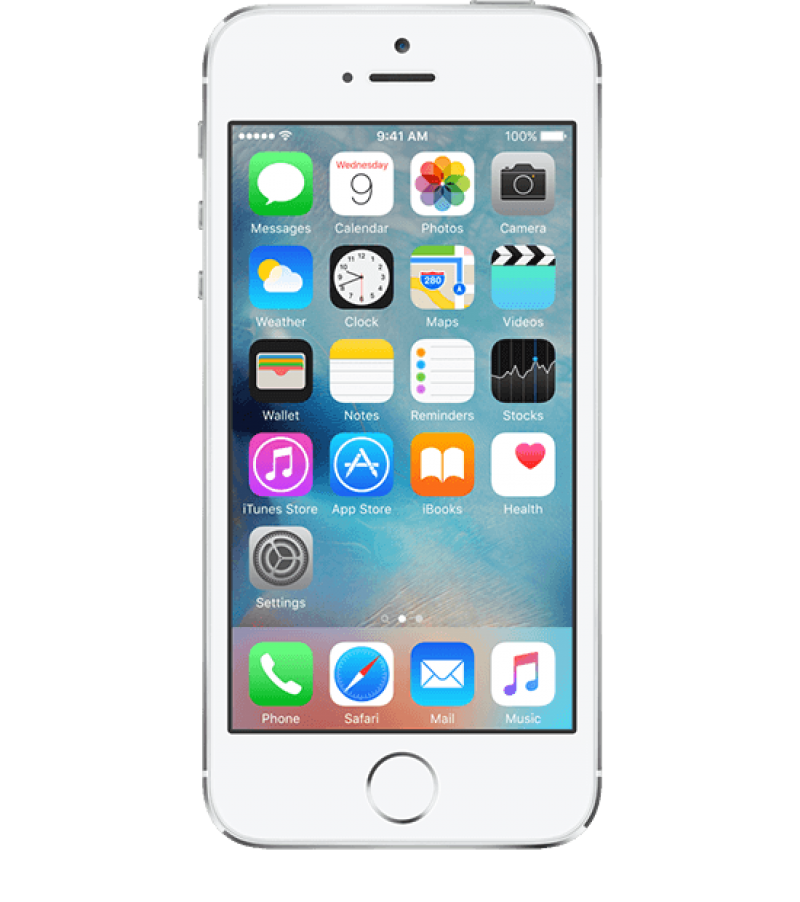Apple iPhone 5 Smartphone PNG Image