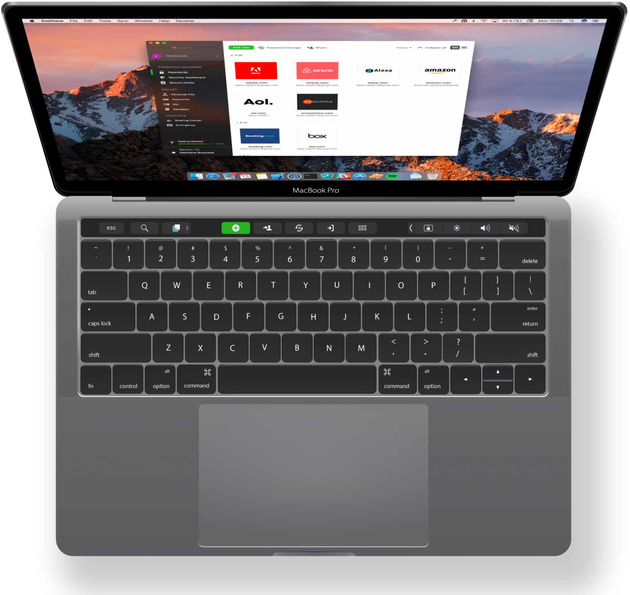 Apple Mac Book PNG Image