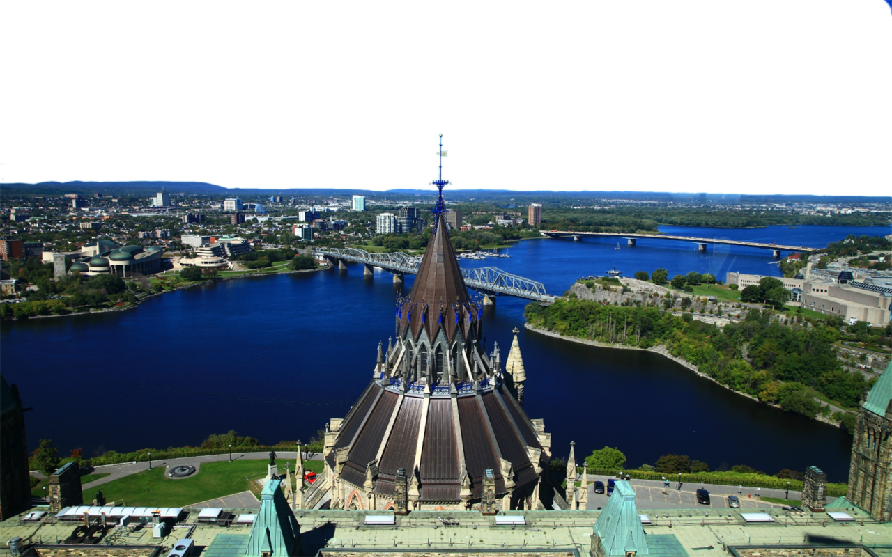 Bird's Eye-view - Canada PNG Image
