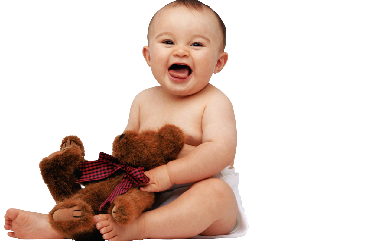 Baby Play with Toy PNG Image
