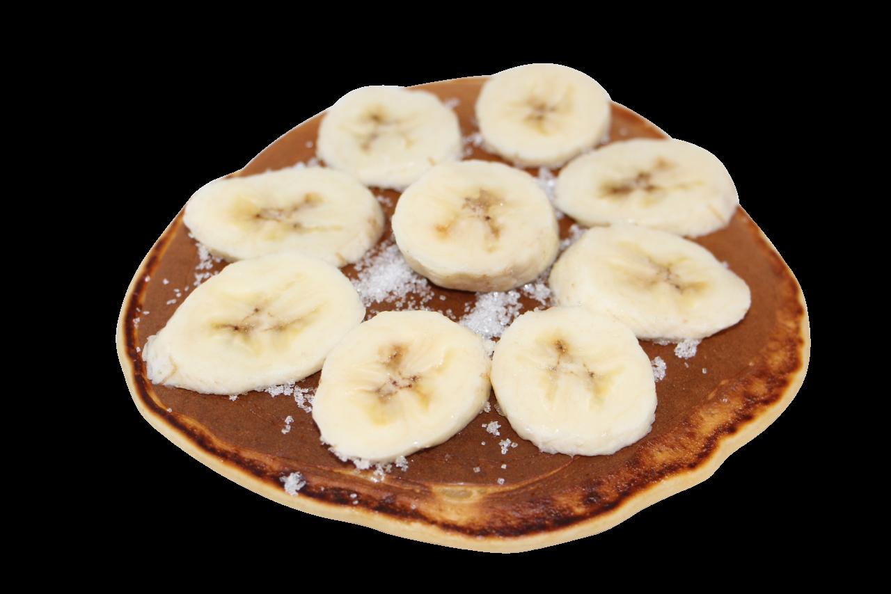 Banana Pancake PNG Image