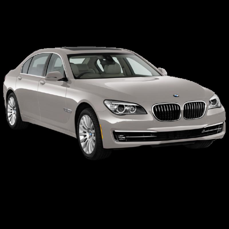 Beige BMW Sedan 5 2013 Car PNG Image