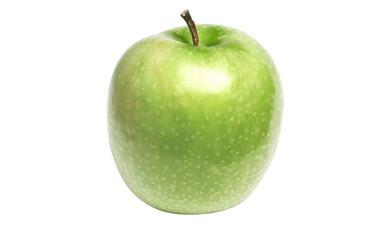 Big Green Apple PNG Image