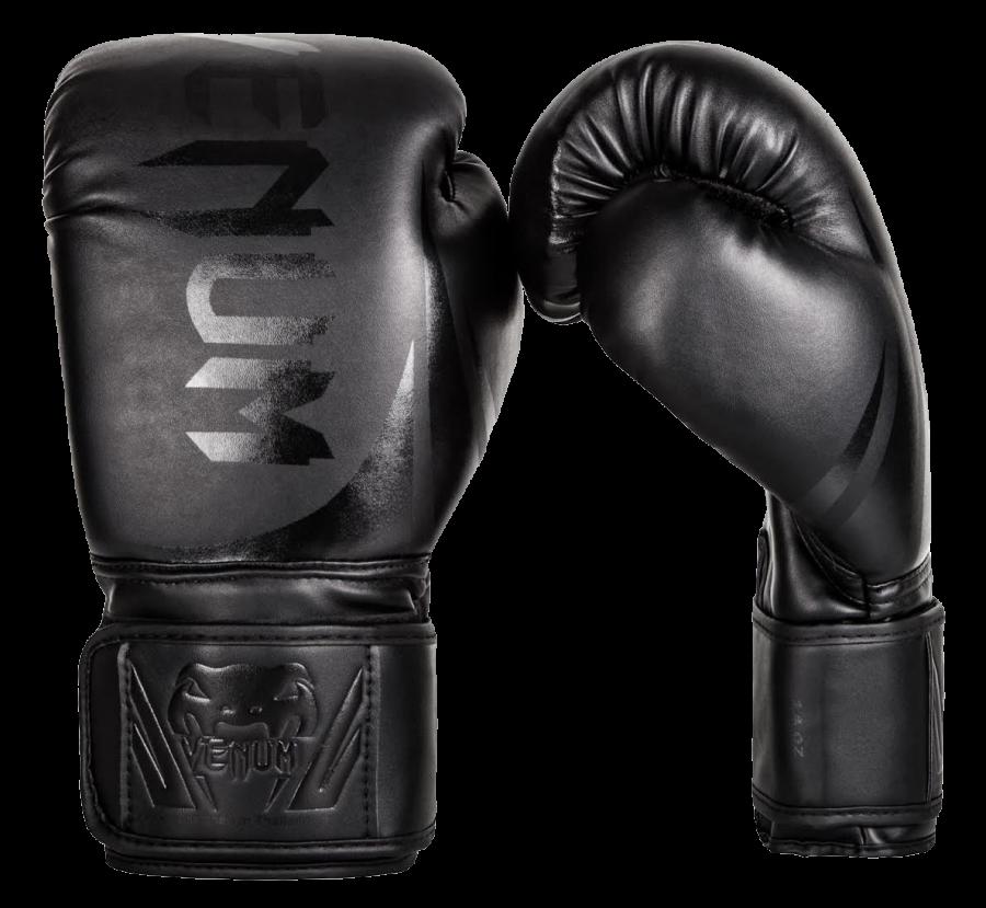 Black Boxing Gloves PNG Image