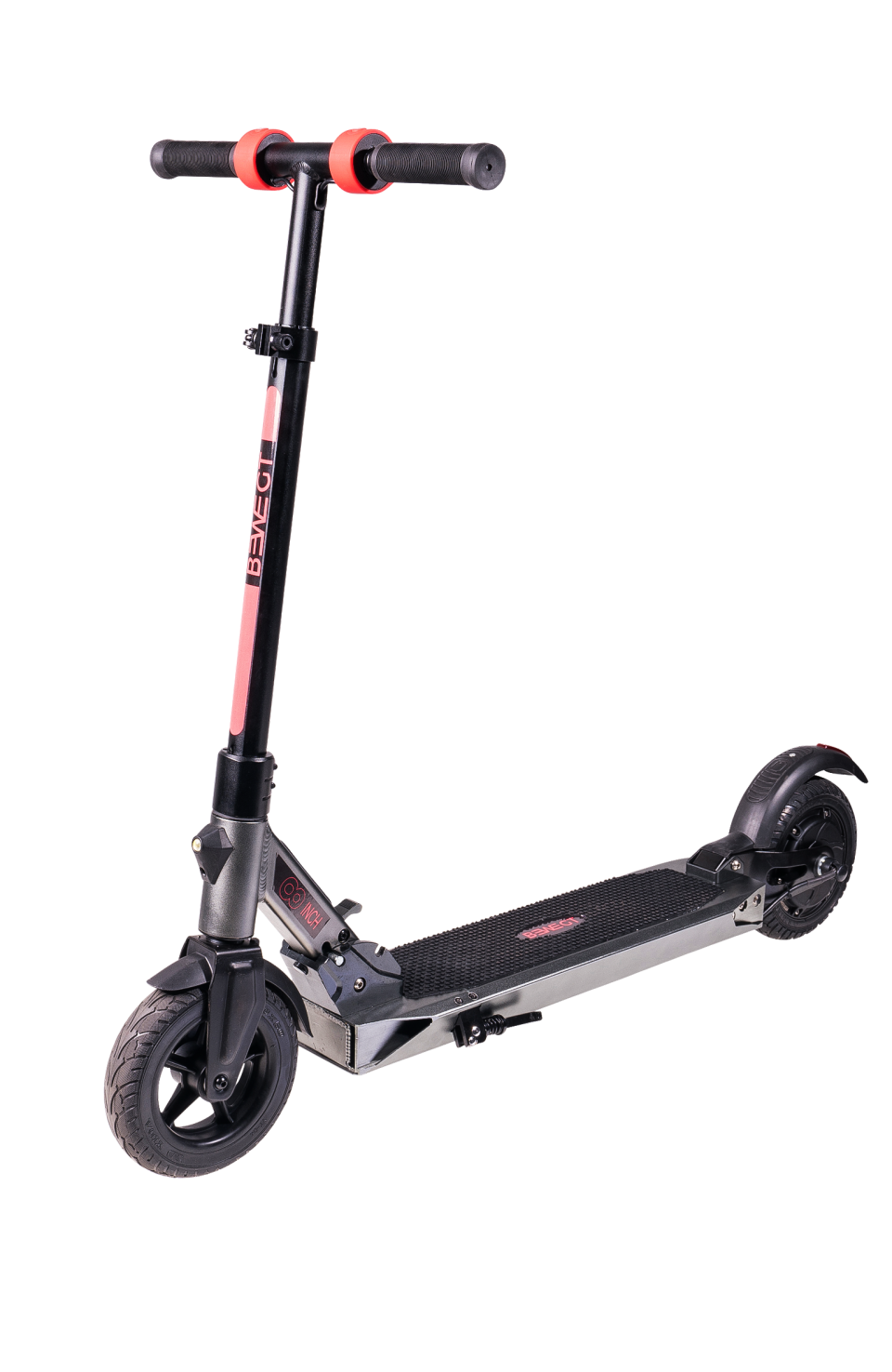 Black E-Scooter PNG Image