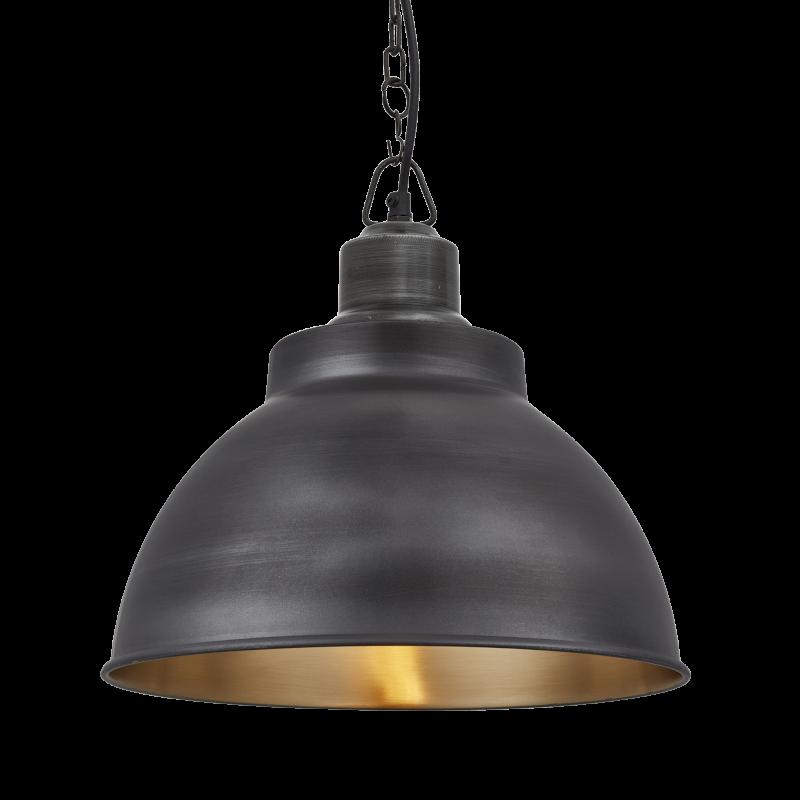 Black Golden Interior Lamp Light PNG Image