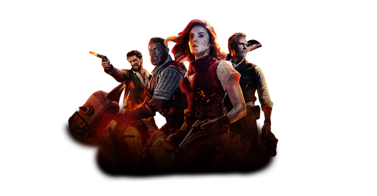 Black Ops 4 Zombie Mode Front Image PNG Image
