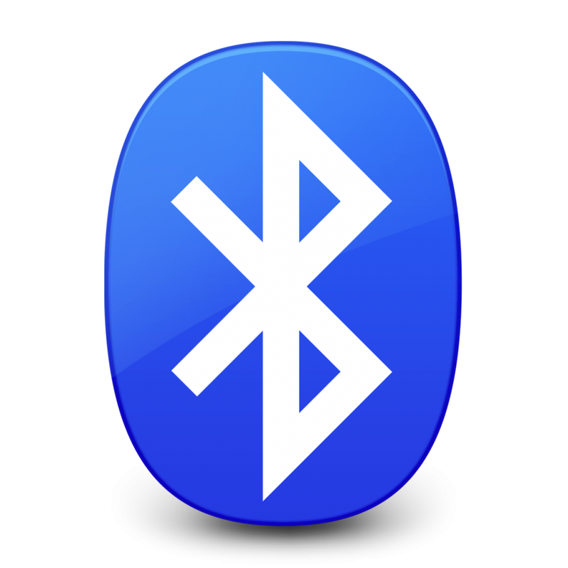 Bluetooth with two dimensional color PNG Image