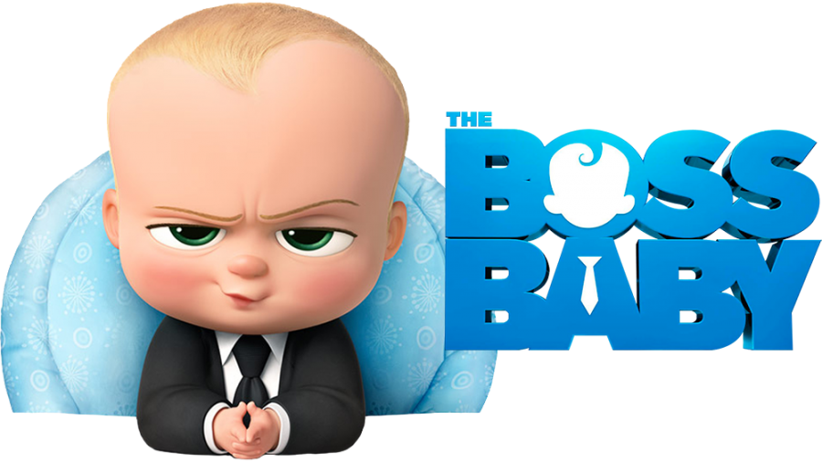 Boss Baby Cartoon PNG Image
