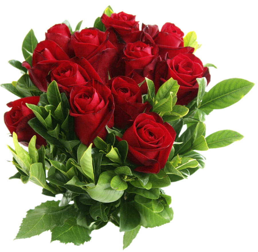 Bouquet of Roses PNG Image