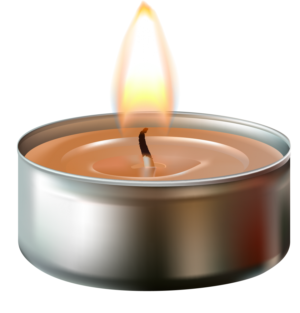 Bright Tealight PNG Image