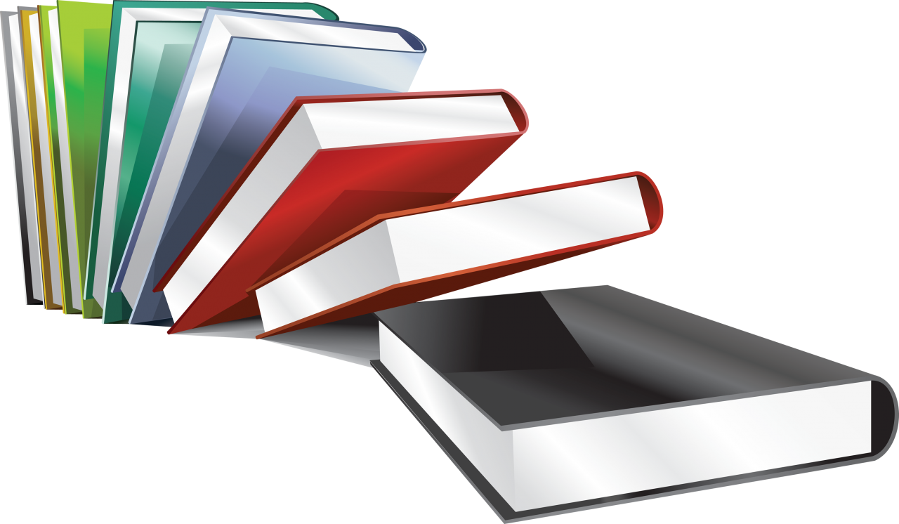 Bundle of Books PNG Image