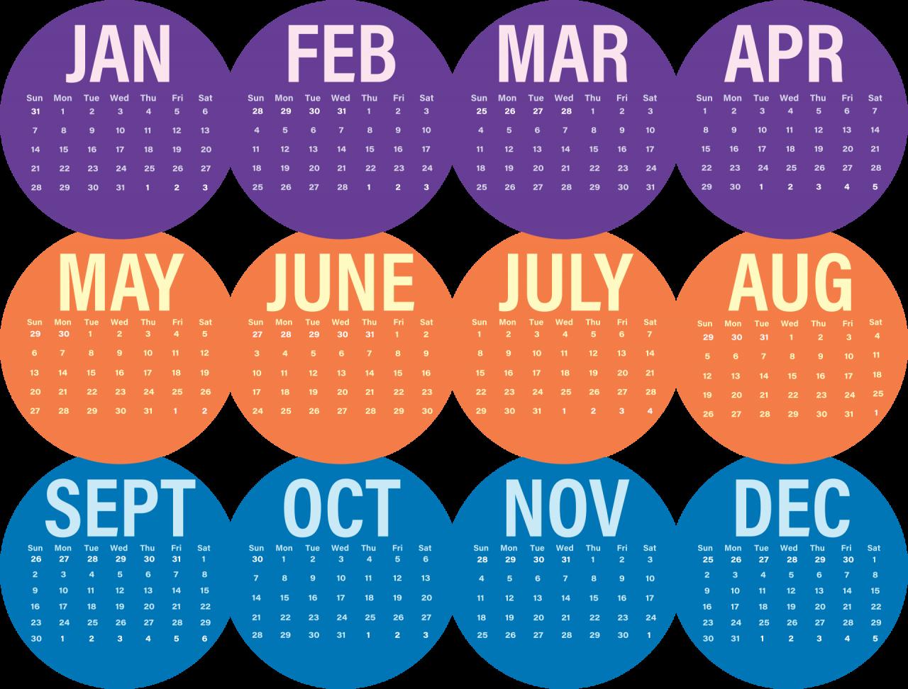 Calendar PNG Image