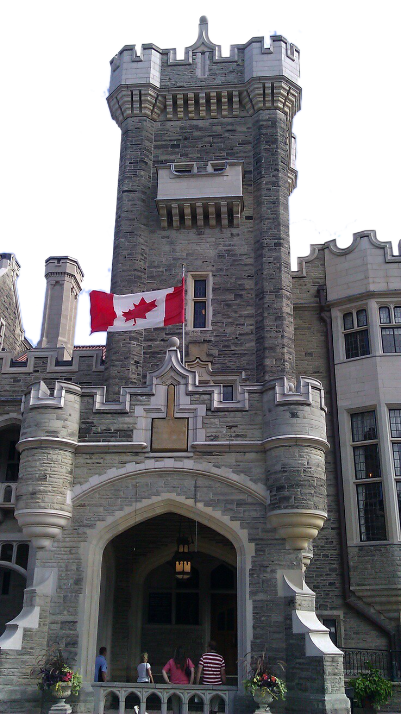 Official Canadian Building PNG Image