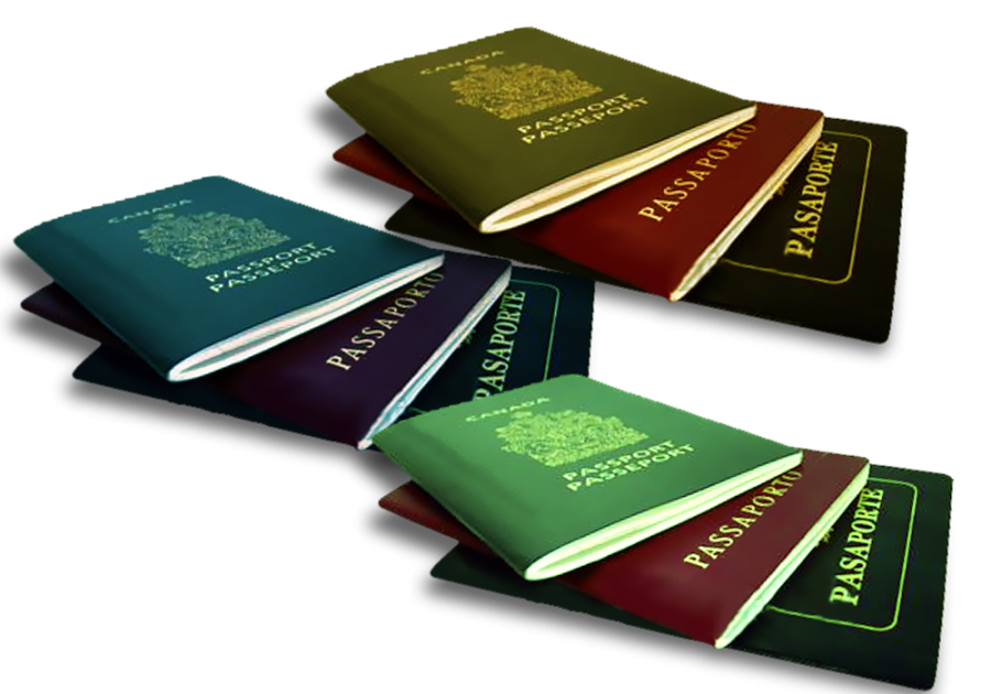 Canadian Passports PNG Image