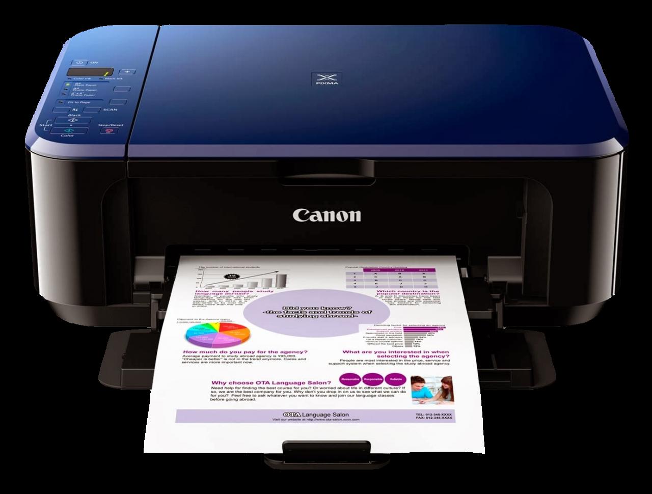 Canon Color Photo Printer PNG Image