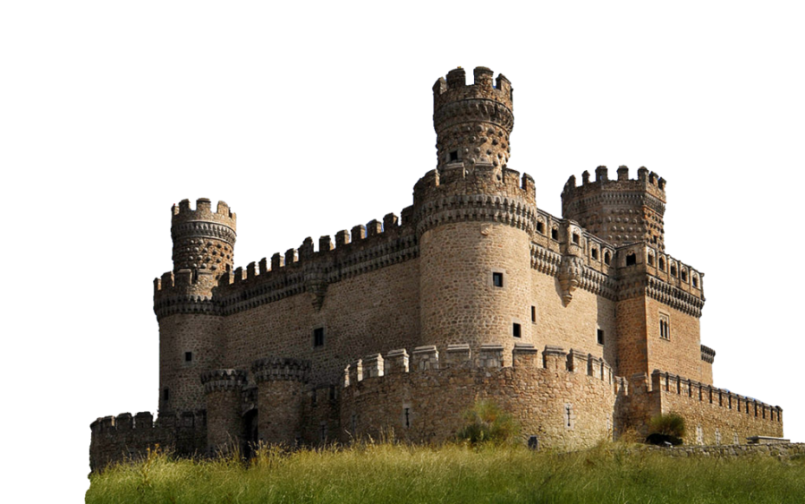 Fortified Building PNG Image