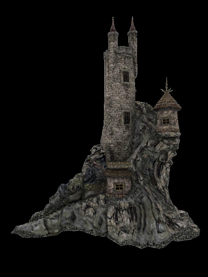 Cut-out Castle PNG Image