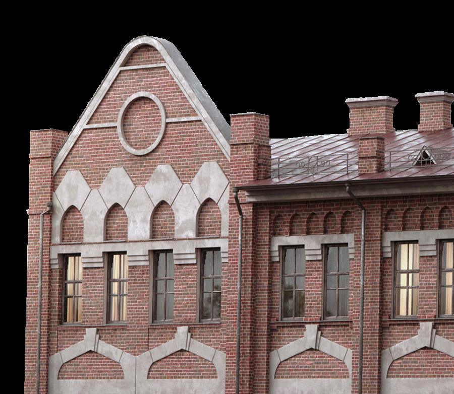 Chimney building PNG Image