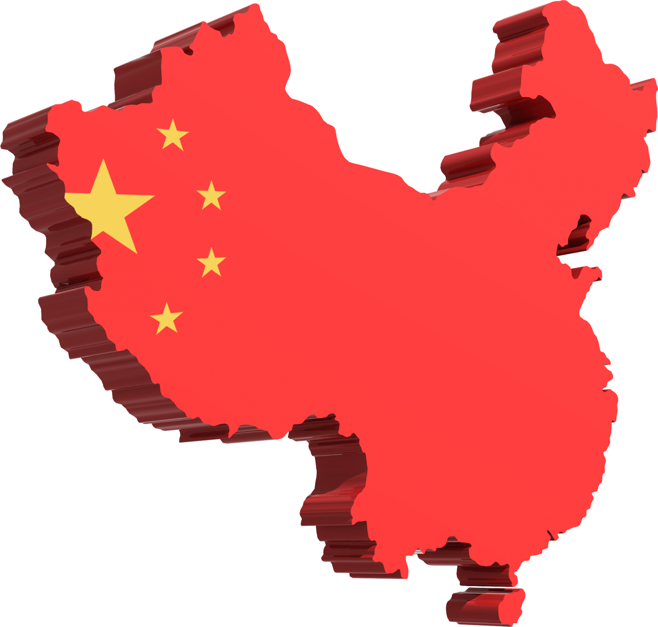 Map of China/Flag of China PNG Image - PurePNG | Free transparent ...