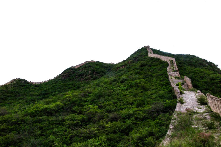 The Great Wall of China PNG Image
