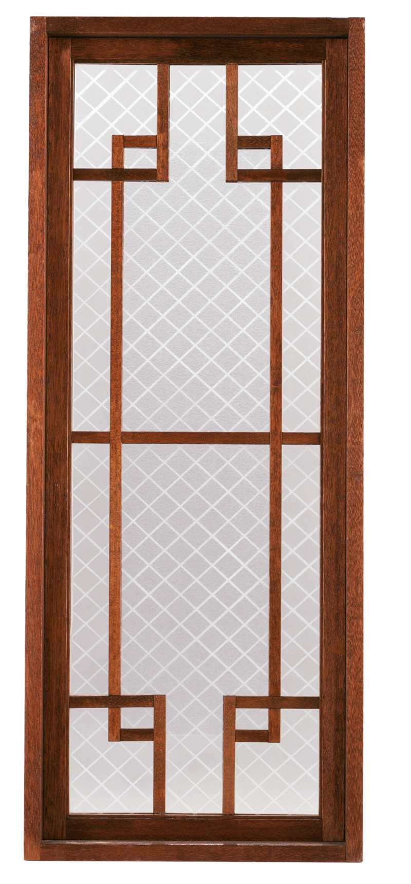 Glass and Wooden Door PNG Image