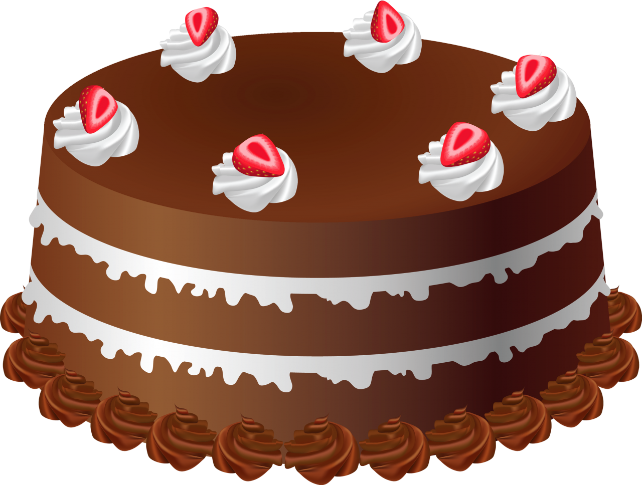 Chocolate Cake PNG Image