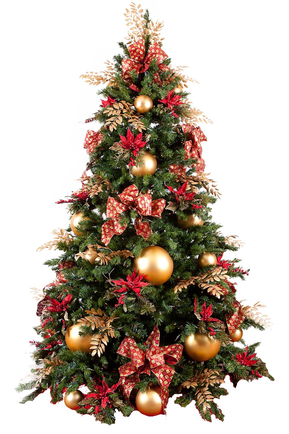 X-mas Tree with Presents PNG Image