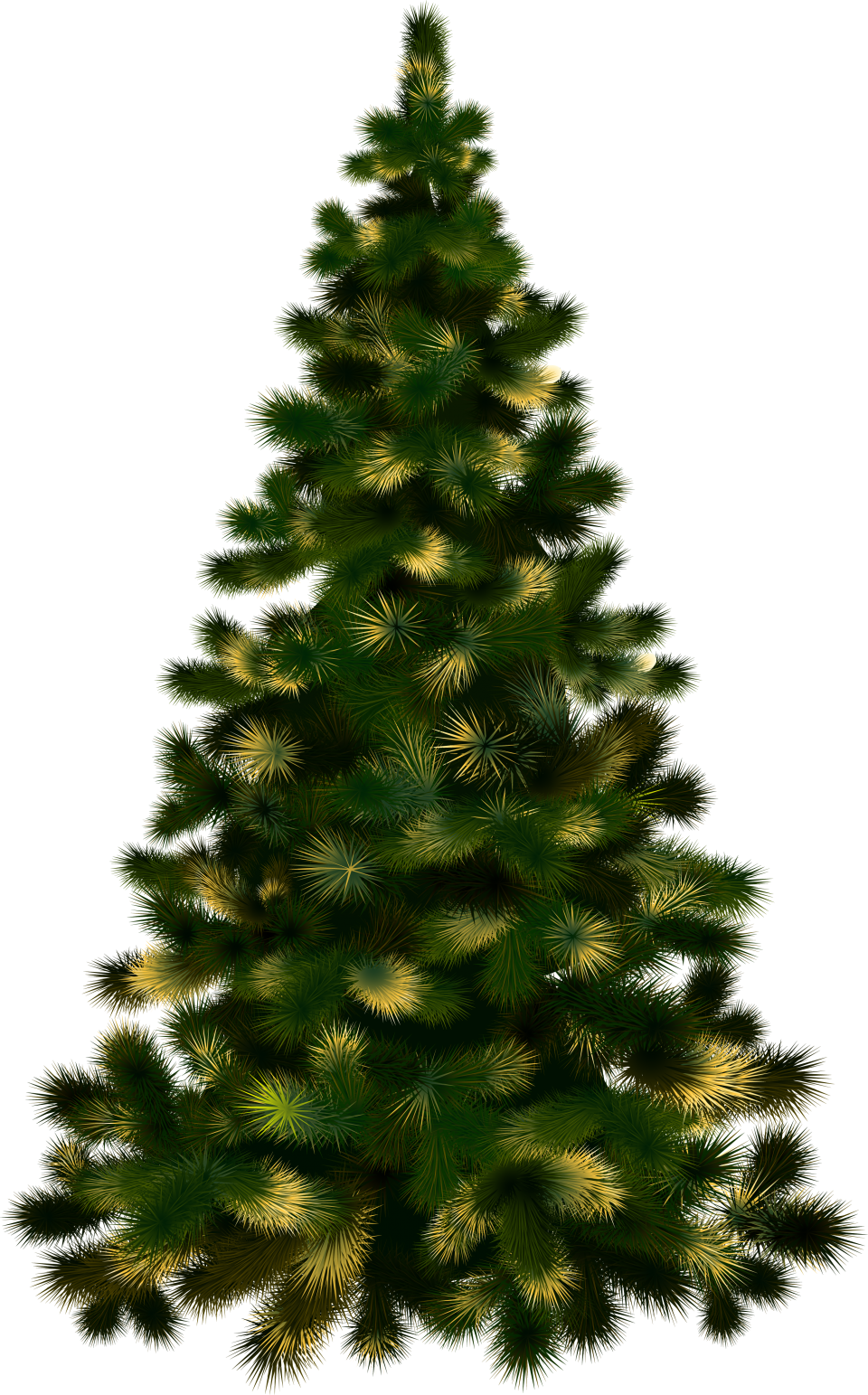 Christmas Tree without Lights PNG Image - PurePNG   Free ...