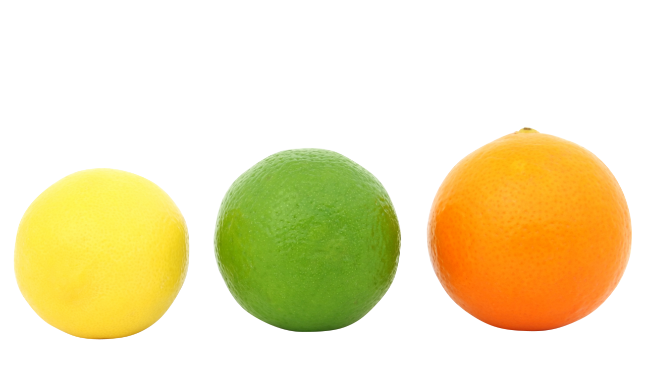 Colorful Fruits PNG Image