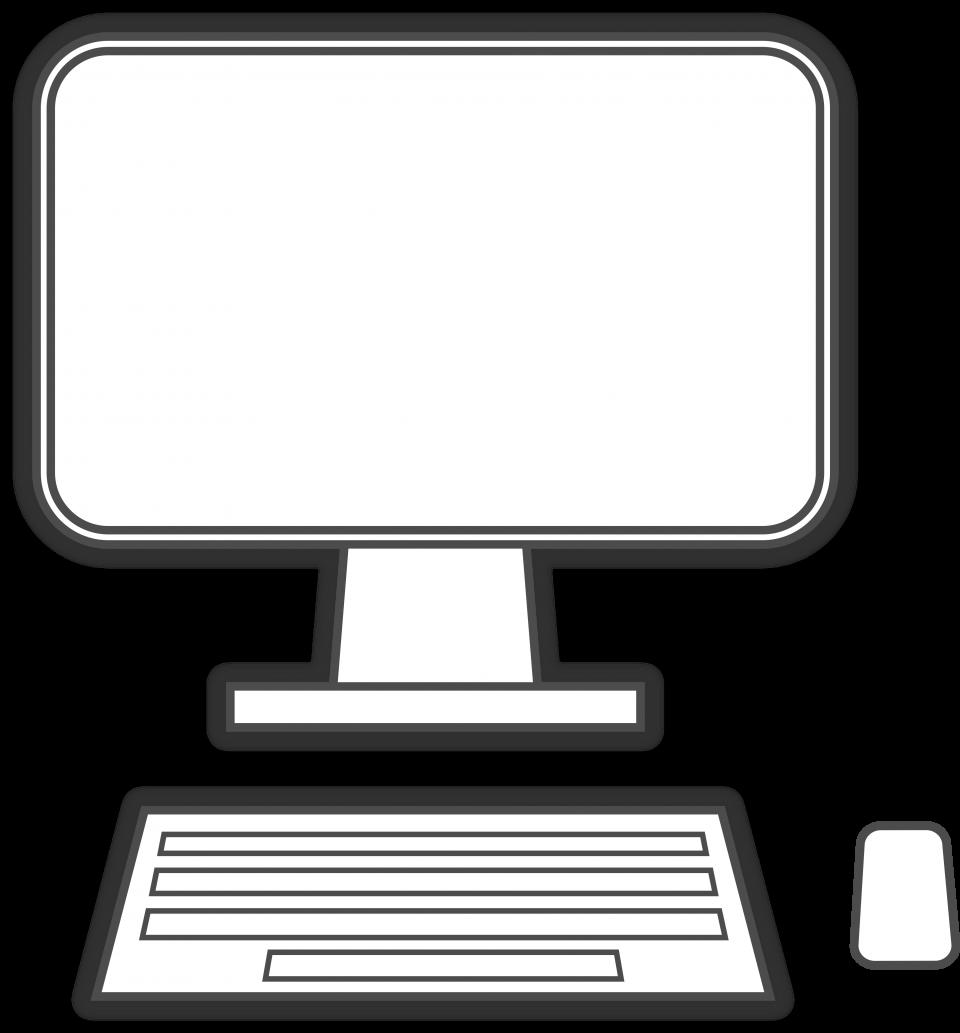 Computer Drawing PNG Image