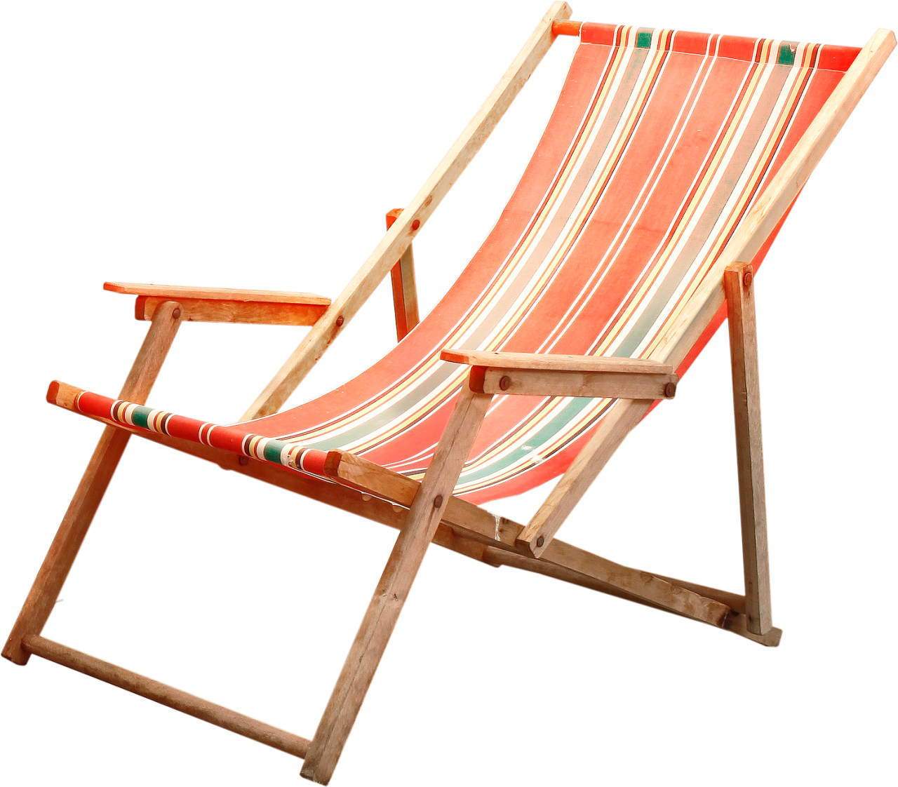 Deck Chair PNG Image