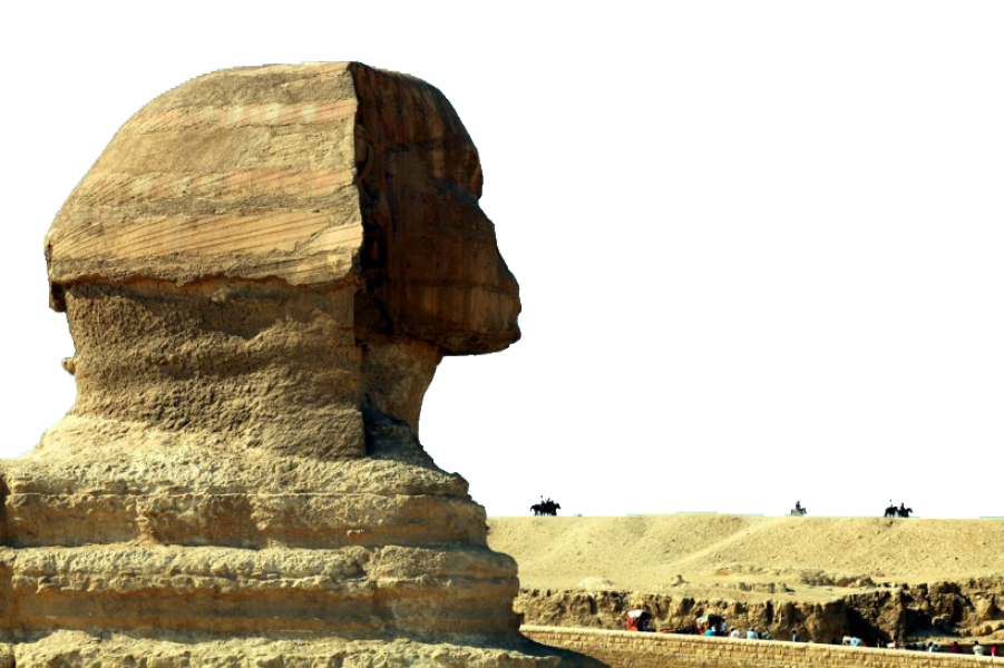 Egyptian Mummy Carved Out Stone PNG Image